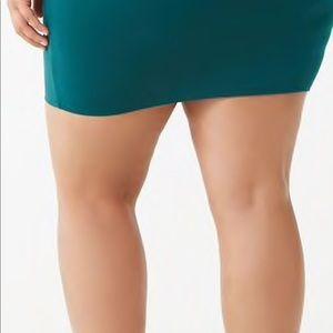 Forever 21 Skirts - Plus size bodycon mini skirt